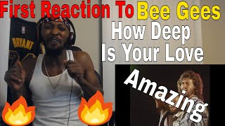 Download First Reaction To BEE GEES- How Deep Is Your Love