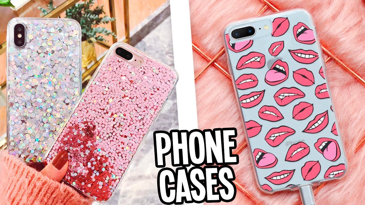 10 DIY Phone cases you NEED to try! Easy & Cute Aesthetic Ideas