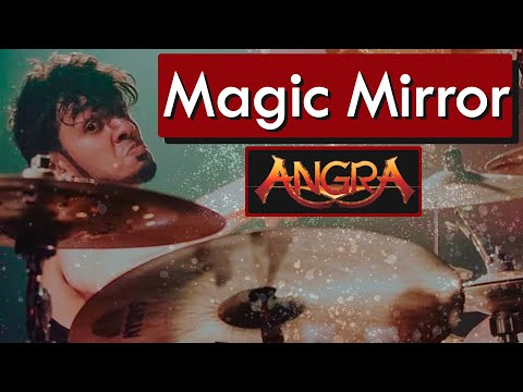 BRUNO VALVERDE - MAGIC MIRROR - ANGRA - DRUM PLAYTHROUGH
