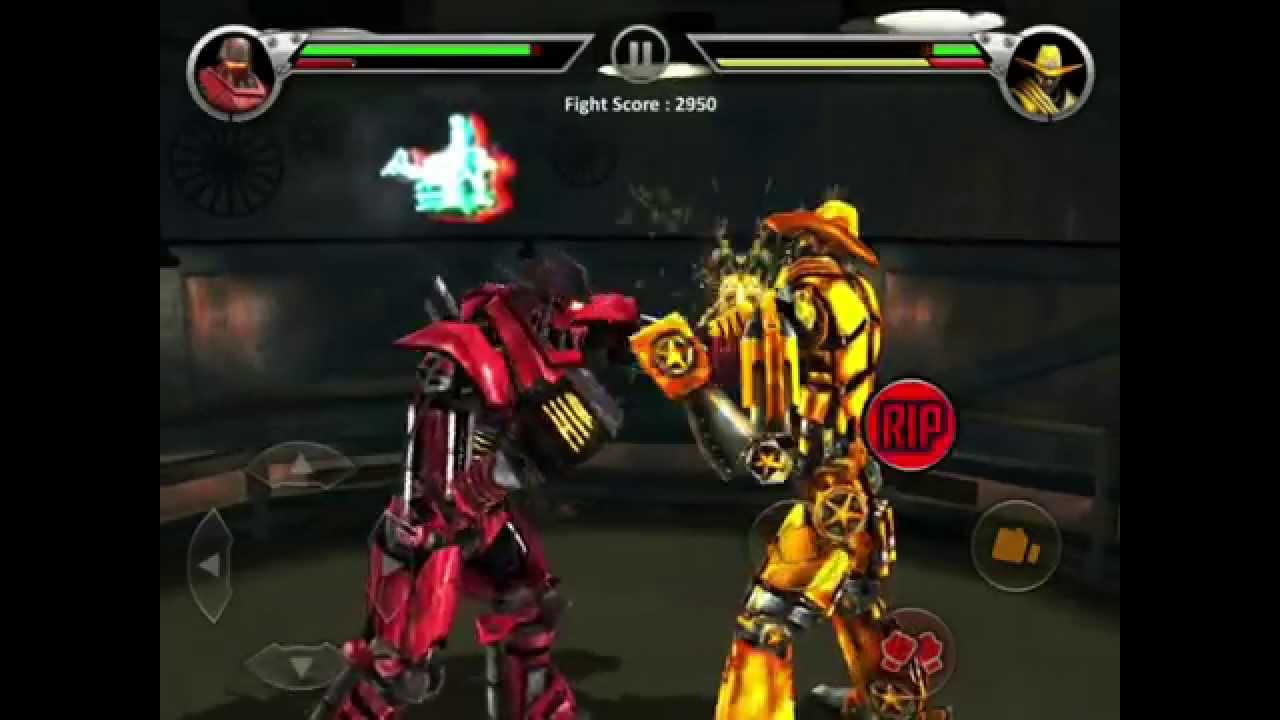 Real Steel Black Top VS Six Shooter NEW - YouTube