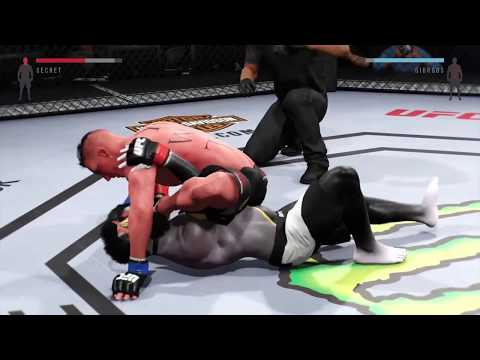 """2nd ranked in EA UFC 2 """"You will tap"""""""