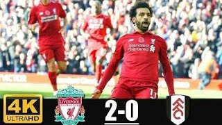 Liverpool 2x0 Fulham Gols e Melhores Momentos