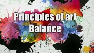 Principles of art - Balance - patreon.com/EpicArtAcademy