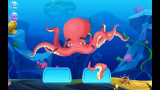 CARE GAME   OCEAN DOCTOR Animals FUN game for KIDS