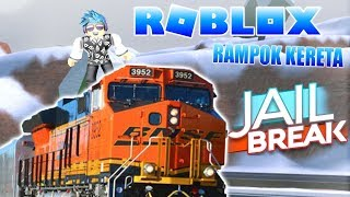 ROB THE TRAIN IN JAIL BREAK! (ROBLOX JAIL BREAK INDONESIA)