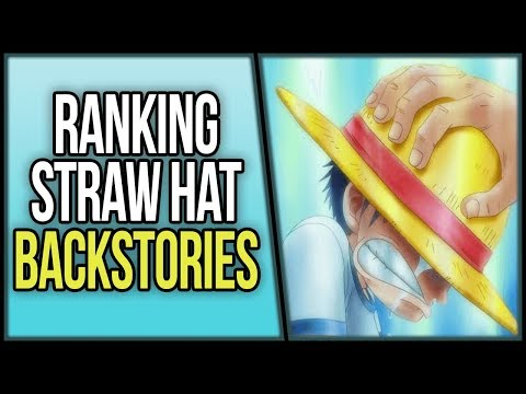 Ranking the Strawhat Backstories | ワンピース