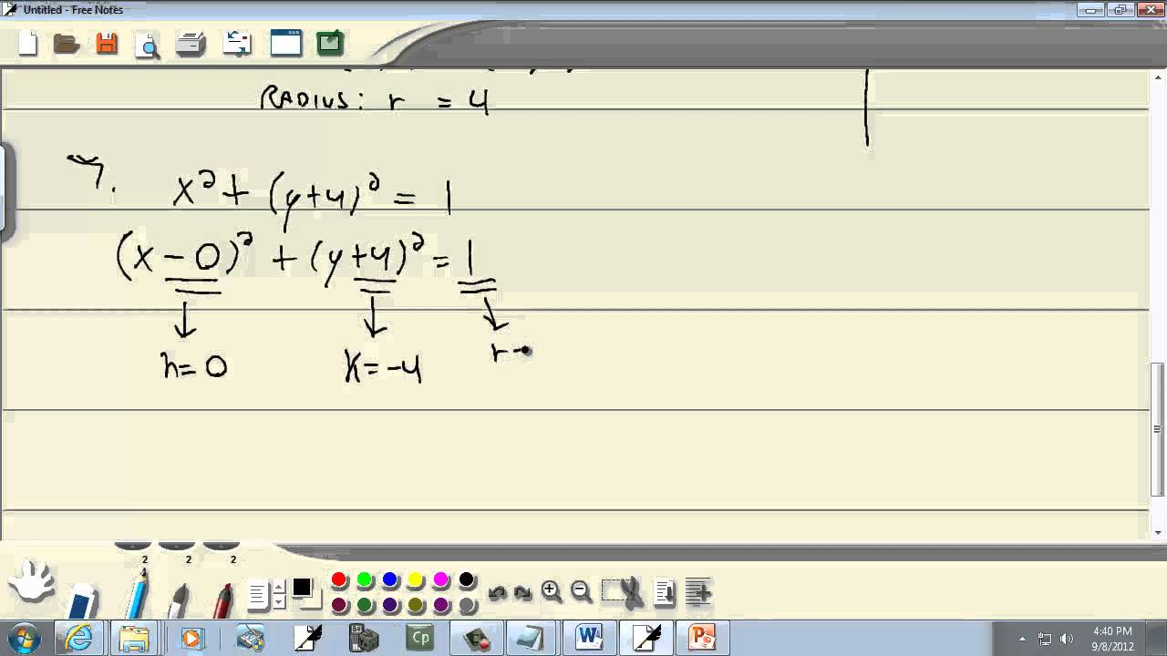 College Algebra: Distance and Midpoint Formulas