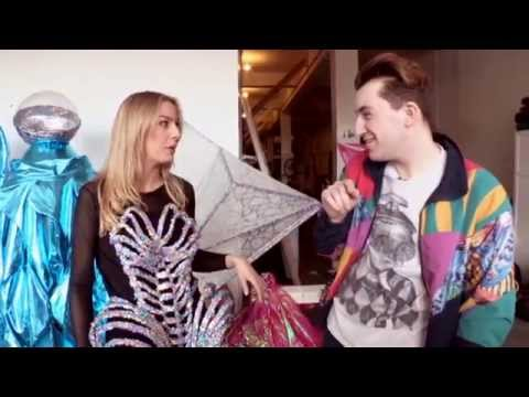 Jack Irving Designs Costumes for Lady Gaga| Two Tube