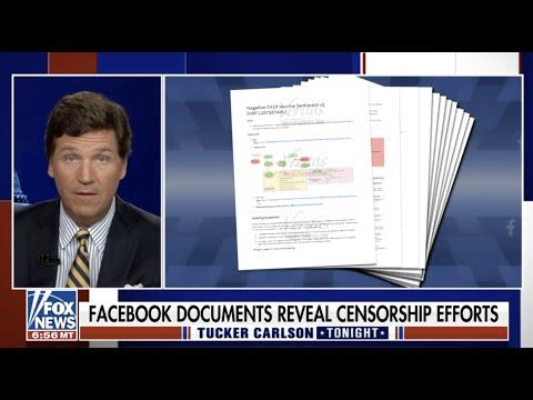 Tucker Carlson BLASTS Facebook's Orwellian Censorship Following Veritas' Two Whistleblower