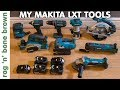 A video about all my Makita Cordless LXT tools and my opinions of them. Also why I chose Makita, why I prefer cordless tools to corded and what I'd like to own ...