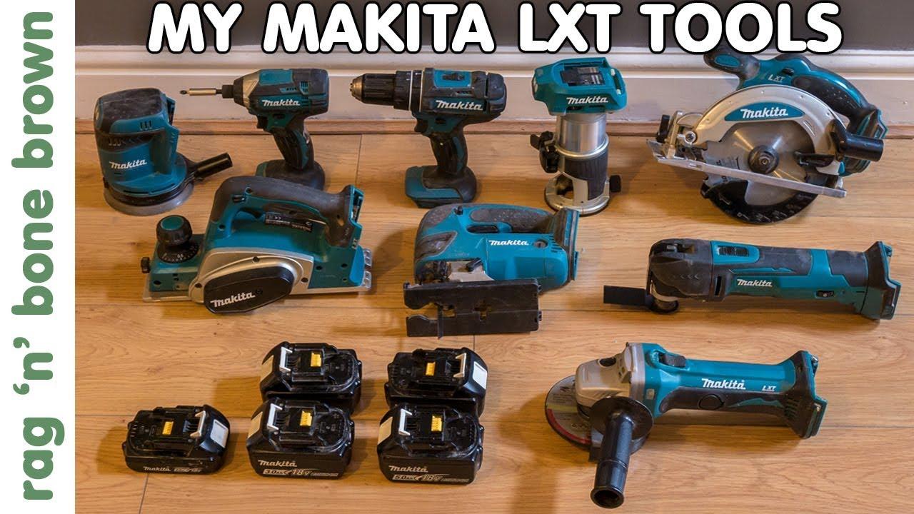 My Makita Cordless LXT Tools Review