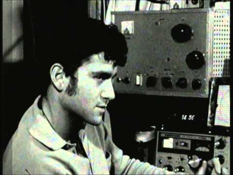 Ham radio SSTV demonstration on Israeli TV show 1973