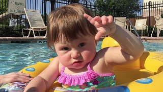 sunday funday pool day fun vlog 2 with water mushroom