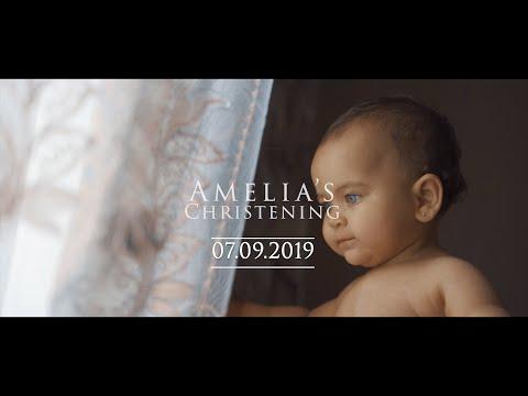Amelia - Christening