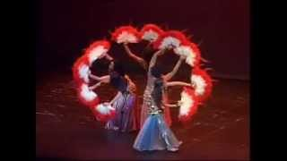 Anandi Oriental Dance - Grupo belly Dance Angels - Cairo to San Pablo Song - dance finale