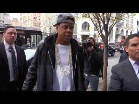 Jay Z & Kanye West Make Good In NYC - Fans Are Happy For Them