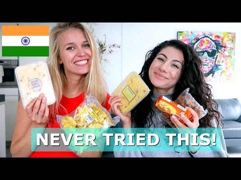 INDIA SNACKS TASTE TEST | TRAVEL VLOG IV