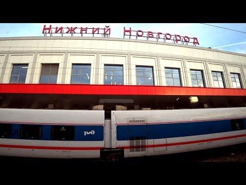 На электричке из Семёнова в Нижний Новгород (вид из окна)