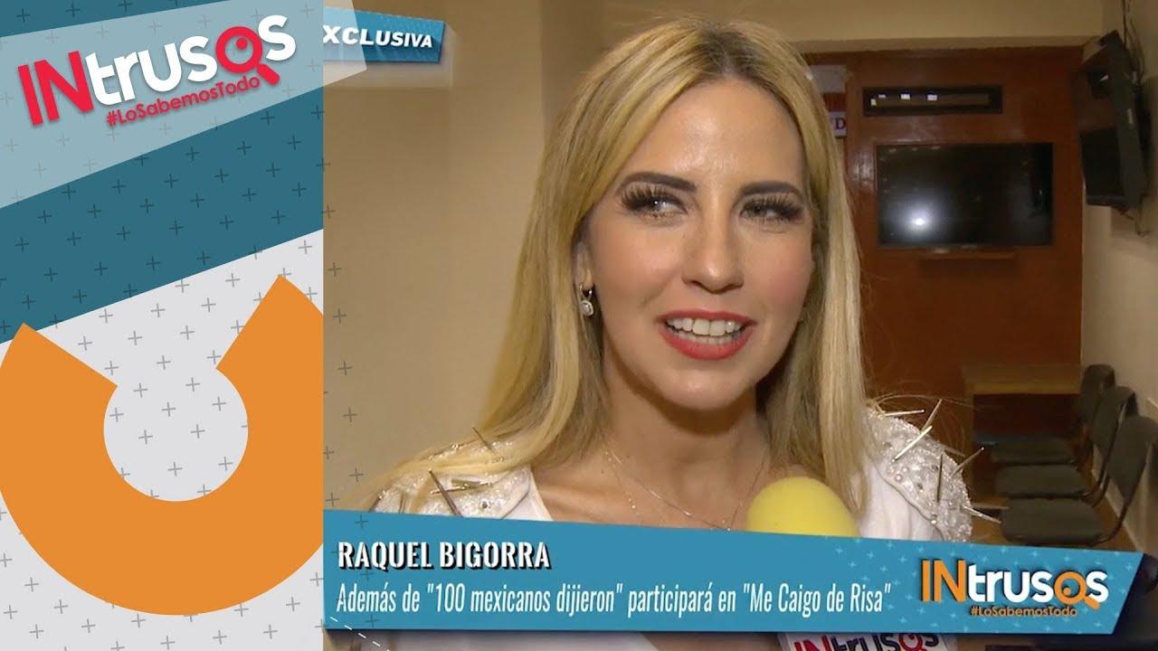 Raquel Bigorra contenta de regresar a los foros de Televisa   INtrusos