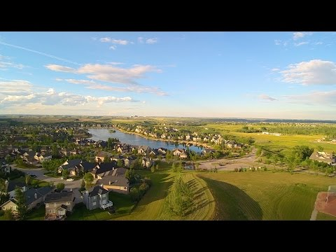 The Lake at Heritage Pointe, Alberta Aerial