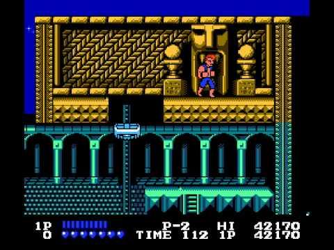 NES Game: Double Dragon (1988 Tradewest, Inc)