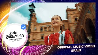 Soleá is the spanish representative for junior eurovision song contest 2020. and her hometown sevilla are main protagonists in official mus...