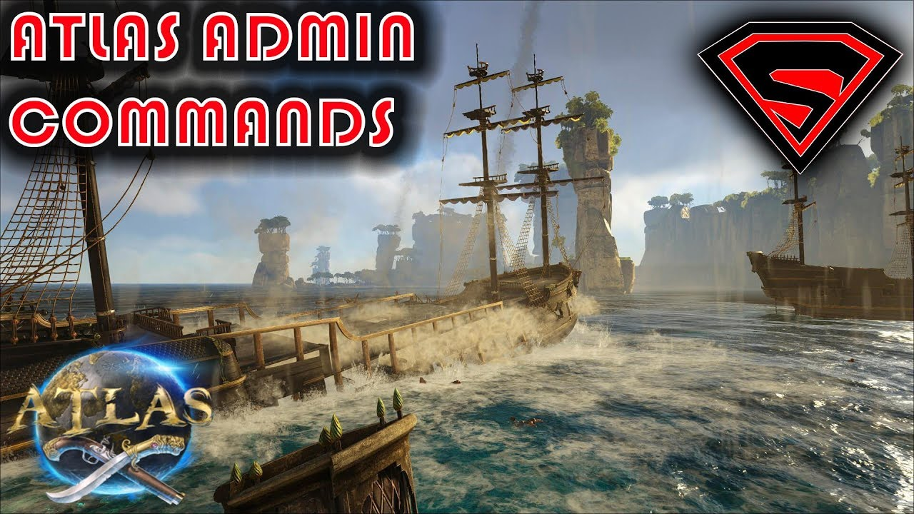 ATLAS ADMIN COMMANDS - ADMIN COMMANDS FOR ALL RESOURCES, CREATURES, GEAR  AND MORE