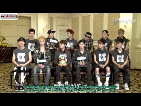 [13.06.07] EXO's Tencent Interview [Eng]