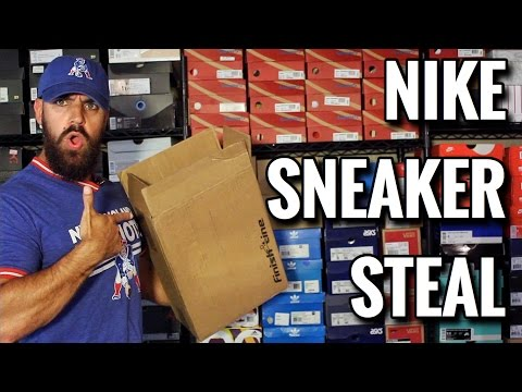 UNBOXING: Got This NIKE SNEAKER For A STEAL!