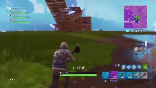 Fortnite Battle Royal New Abstract Skin Gameplay  Getting 2 Wins