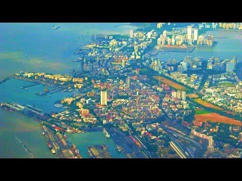Landing In Mumbai Chhatrapati Shivaji International Airport, India