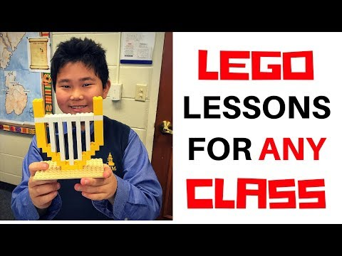 Lego Lessons in the classroom: Building creativity at all levels of education!