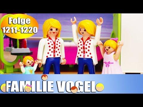 Playmobil Filme Familie Vogel: Folge 1211-1220 | Kinderserie | Videosammlung Compilation Deutsch