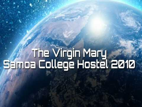 The Virgin Mary (Samoa College Hostel 2010)