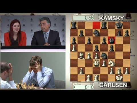 2013 Sinquefield Cup: Round 1 Replay (part 1)