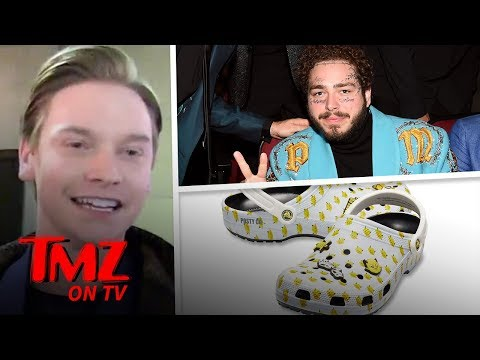 Post Malone Puts Out His Own Line Of Crocs | TMZ TV Mp3