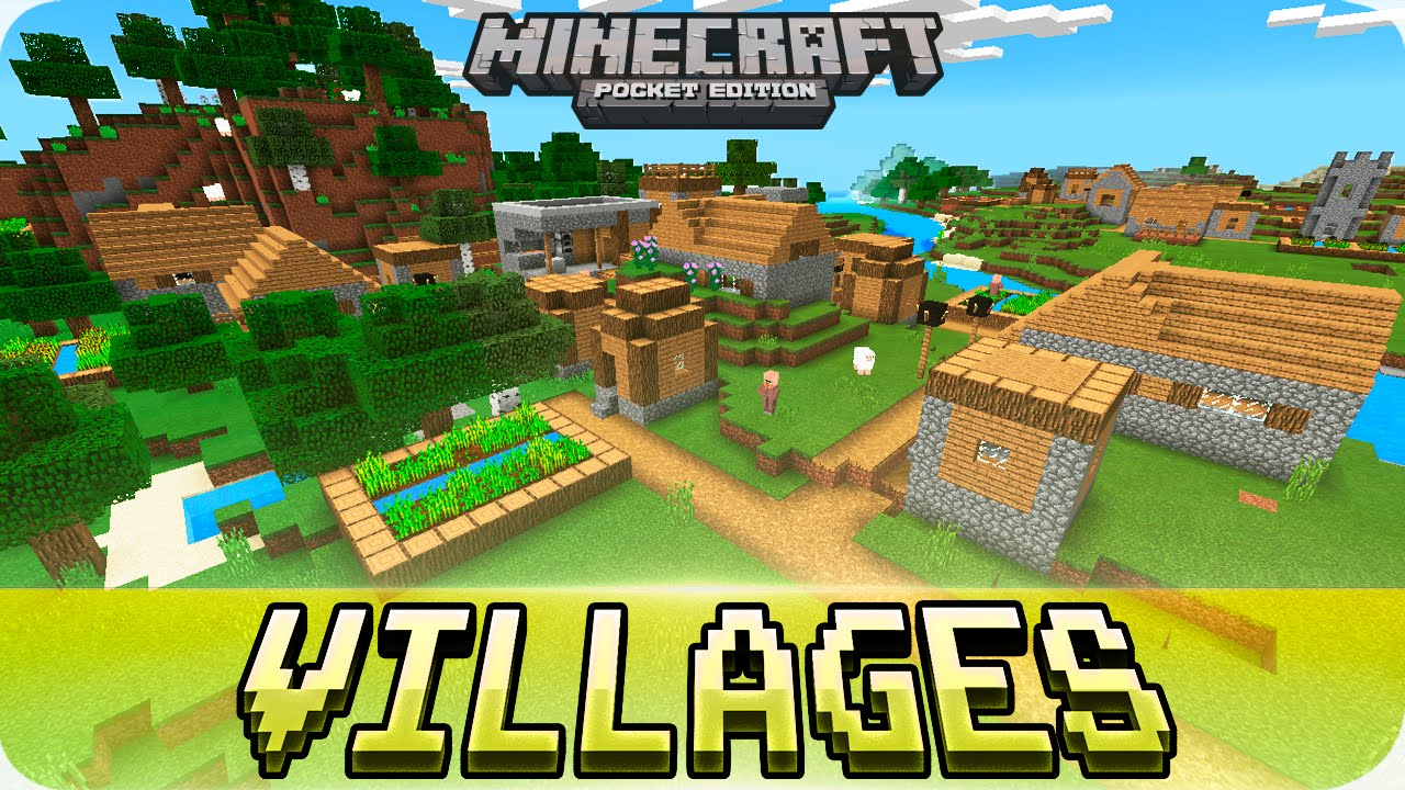 Minecraft PE Seeds - Jungle Temple, 4 Villages, Survival Island Seed -  0 16 0 / 0 15 0 MCPE