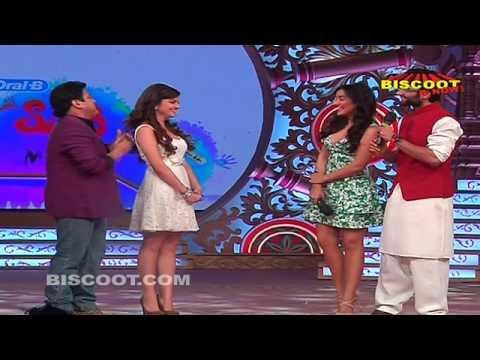 Jackie Bhagnani & Hot Neha Sharma at Holi Celebration | Youngistaan Movie Promotion