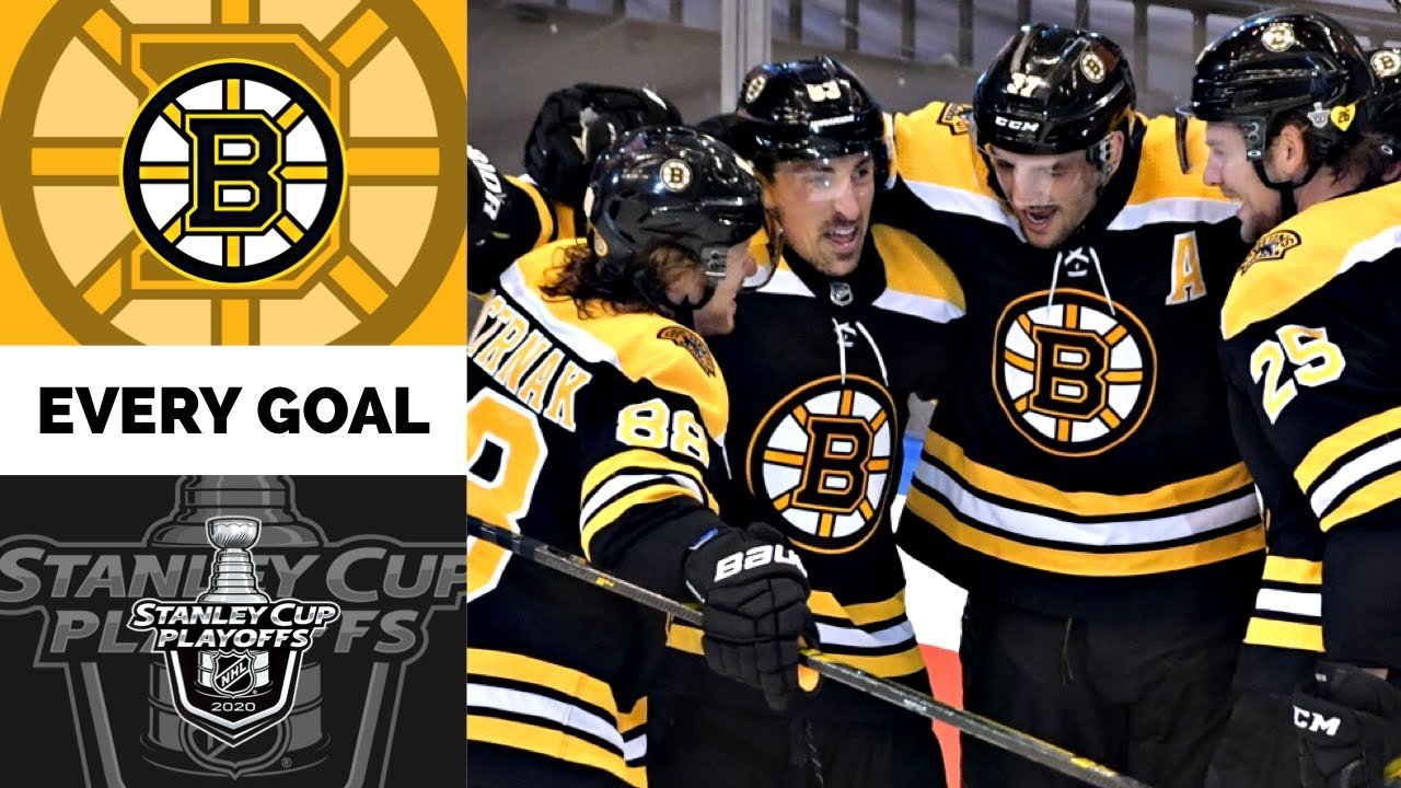 Boston Bruins | Every Goal from the 2020 Stanley Cup Playoffs