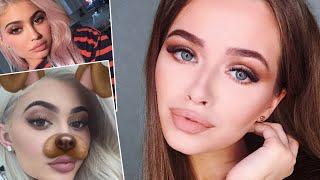КАК выглядеть как КАЙЛИ ДЖЕННЕР?! Kylie Jenner Inspired Makeup Look| Яна Русая