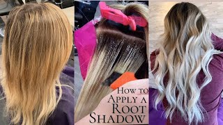 How To Apply A Root Shadow   Tips And Formulation For Blending Grow Out, Explaining Application