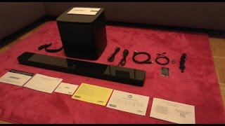 Bose Soundtouch 300 & Acoustimass 300 unboxing