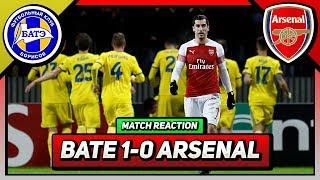 Bate Borisov 1-0 Arsenal |