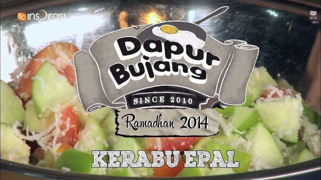 Dapurbujang Ramadhan Kerabu Epal