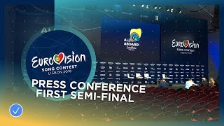 Eurovision Song Contest 2018 - Press Conference first Semi-Final