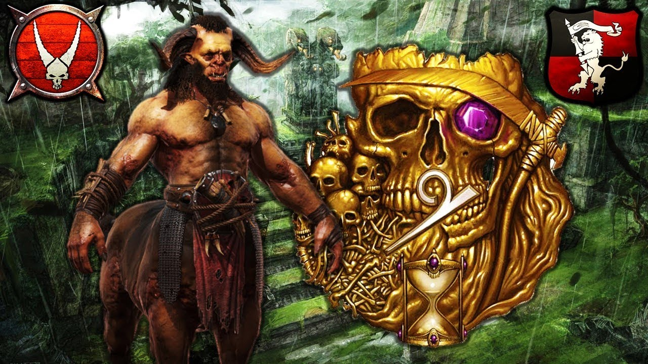 GHORROS WARHOOF vs  ELSPETH von DRAKEN - Beastmen vs  Empire - Total War  Warhammer 2