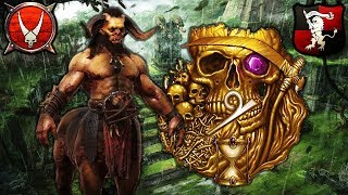 GHORROS WARHOOF vs. ELSPETH von DRAKEN - Beastmen vs. Empire - Total War Warhammer 2