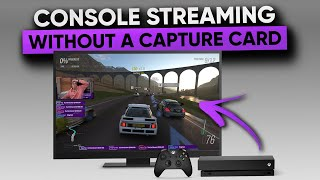 Advanced Console Streaming WITHOUT a Capture Card or PC!