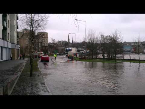 New Ross , Rosbercon was badly Flooded 03.02.14 --Stay Safe Folks...