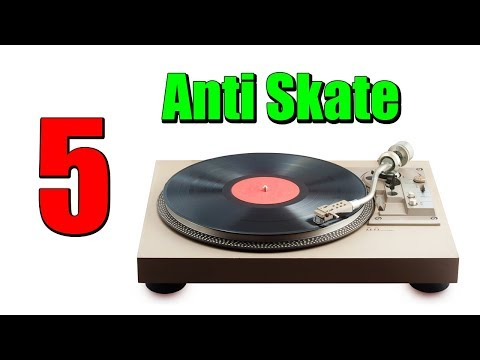 Anti Skating Whats It For How It Works And How To